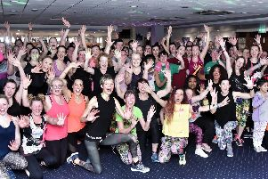 Those who sweat together can achieve great things together  and that was certainly the case for all those who donned their gym kit for a high octane Workout-athon charity event at PNE.