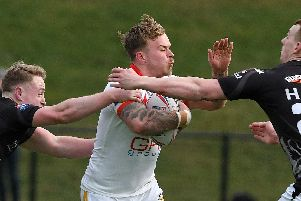 Ben Blackmore scored two tries in the Eagles' win over Batley