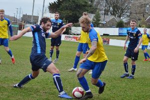 Stocksbridge Park Steels' Brodie Litchfield. Picture: Gillian Handisides