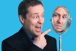 Comedian Ardal O'Hanlon, touring with a new stand-up show