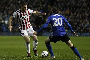 Defender Jack O'Connell was targeted by some Sheffield Wednesday fans during the Sheffield derby