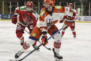 John Armstrong in action for Steelers'