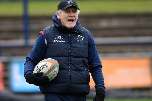 Clive Griffiths Director of Rugby at the Doncaster Knights.