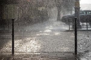 The weather is set to be dull today as Storm Gareth hits the UK, bringing wet and windy weather conditions to Sheffield.