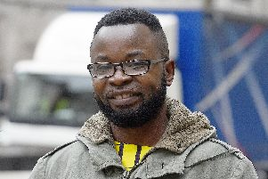 Felix Ngole. Picture: Kirsty O'Connor/PA Wire
