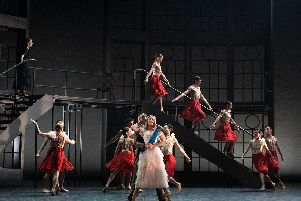 Abigail Prudames in the title role in Northern Ballet's Victoria