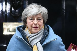 Prime Minister Theresa May. Picture: John Stillwell/PA Wire