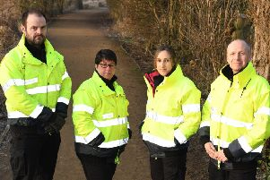 The Streetscene council enforcement team.