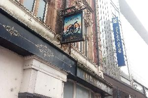 The Cannon pub, on Castle Street, in Sheffield city centre