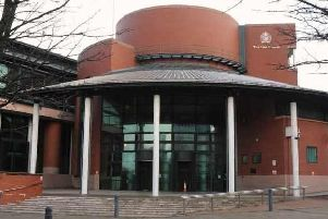 Elvis Aaron Presley is to face trial at Preston Crown Court for allegedly threatening a man with a knife in a Blackpool laundrette