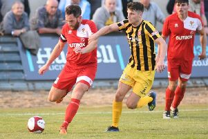 Will Annan in action for Boro