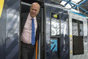 Correspondent Stephen Pierre says that Transport Secretary Chris Grayling (pictured) approved Blackpools tram extension at the 11th hour. Mr Pierre says: With his track record I would have little confidence in him rubber-stamping a miniature tramway through a model village...