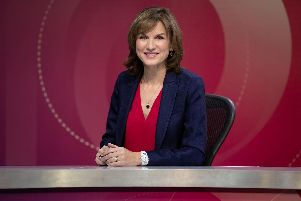Presenter Fiona Bruce will host Question Time in Sheffield the day before Brexit
