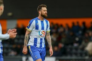 David Edgar's Hartlepool United contract is up at the end of the season.