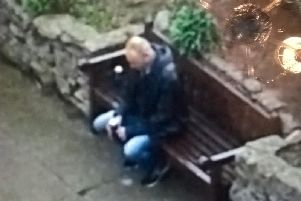Police CCTV image from Bridlington