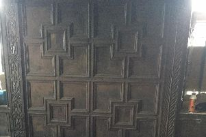 Panelling at Carbrook Hall being repaired during the restoration (pic: Sean Fogg)