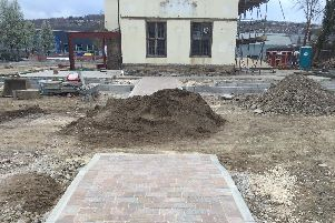 Some 600 tonnes of tarmac has been removed from the grounds of Carbook Hall, according to owner Sean Fogg (pic: Sean Fogg)