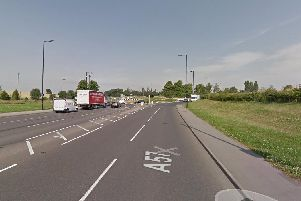 The A57. Picture: Google