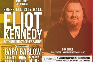 Eliot Kennedy celebrating 50th birthday with star studded golden hits concert