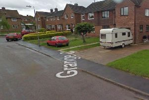The incident occurred on Grange Close