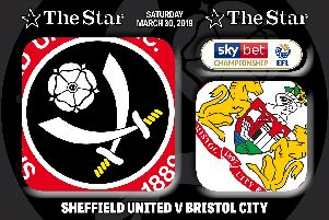The Star's Sheffield United writer James Shield reports on today's game against Bristol City