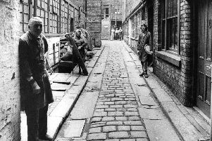 Leah's Yard, off Cambridge steet, was typical of the'enclosed areas where craftsmen had their workshops.