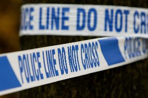 A man and his dog were attacked during a house raid in Sheffield