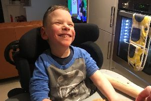 William Ryder, of Goldthorpe, has defied the odds and the doctors to become the miracle child his parents, Michelle and Paul,longed for. Last year he suffered a stoke, and now his family and charity New Life are appealing for help in raising the funds needed to buy him a specialist wheelchair.