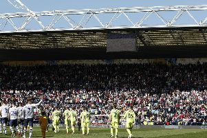 Sheffield United were greeted by a huge away following at Preston North End: Simon Bellis/Sportimage
