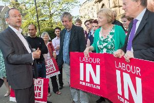 Sheffield Central MP Paul Blomfield, left, is a shadow minister for Brexit.