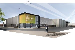 Artist impression of 'The Northern Studios' the new 30,000 sq ft film and television studio and production facility to be built in Hartlepool.