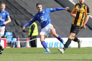 Brad Barry in action during the 4-1 win