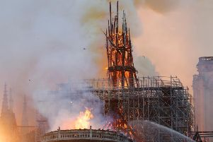 Blaze destroys Notre-Dame Cathedral in Paris