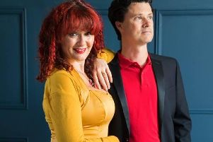 Musicians Kathryn Roberts and Sean Lakeman