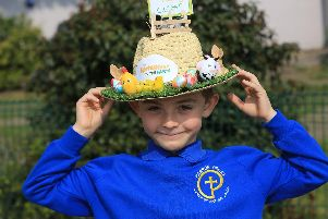 Easter Bonnet parade at Parson Cross CE Primary. Pictured is Jake Mynors, 7. Picture: Chris Etchells