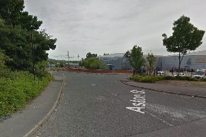 Police officers responded to concerns about a man spotted on tracks off Aston Street, Wybourn, this morning