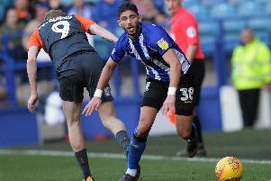 Sheffield Wednesday defender Achraf Lazaar