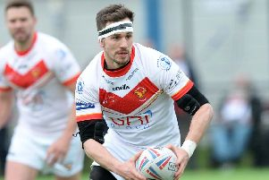 James Davey is back in contention for the Eagles against Rochdale