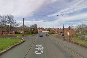 Oak Road, in Mexborough, where the man was eventually arrested (pic: Google)