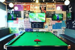 The Common Room is offering 20 per cent off food to snooker ticket holders