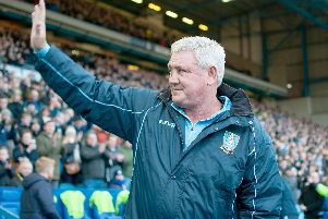 Sheffield Wednesday manager Steve Bruce