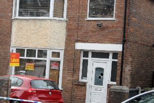 A Sheffield councillor's house was shot at this morning (Pic: Scott Merrylees)