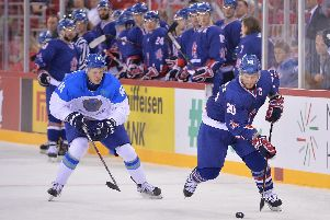 Jonathan Phillips on the march with GB