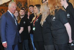 The Prince of Wales started the Princes Trust in 1976 and the charity has since helped thousands of young people