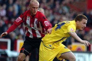 David Cotterill in his Blades days