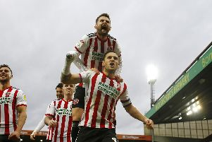 Billy Sharp and Oliver Norwood are in the PFA team of the year - Simon Bellis/Sportimage