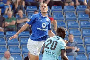 Haydn Hollis has experienced highs and lows on loan at the Proact
