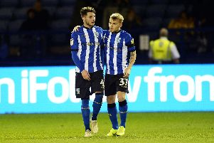 Owls youngsters Matt Penney and Frazer Preston