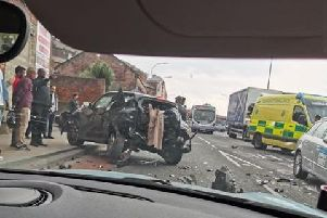 Sheffield mum reveals lucky escape from Spital Hill crash - Credit: Chelle Louise Markey