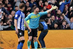 Sheffield Wednesday ace Keiren Westwood